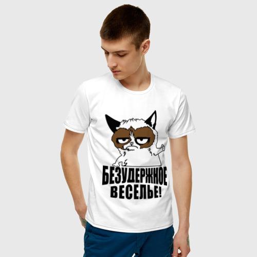 Мужская футболка хлопок Безудержное веселье Фото 01