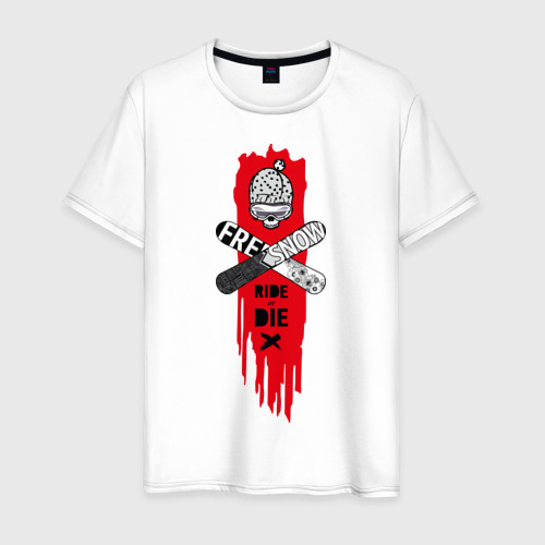 Мужская футболка хлопок Ride or Die Фото 01