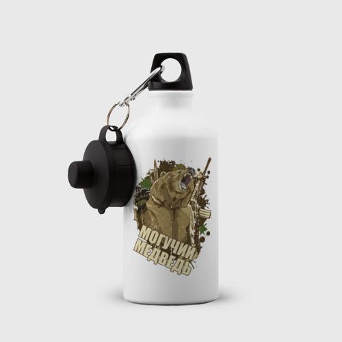 Бутылка спортивная  Фото 03, Powerful bear