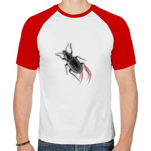 Мужская футболка реглан  Фото 01, Реалистичный жук