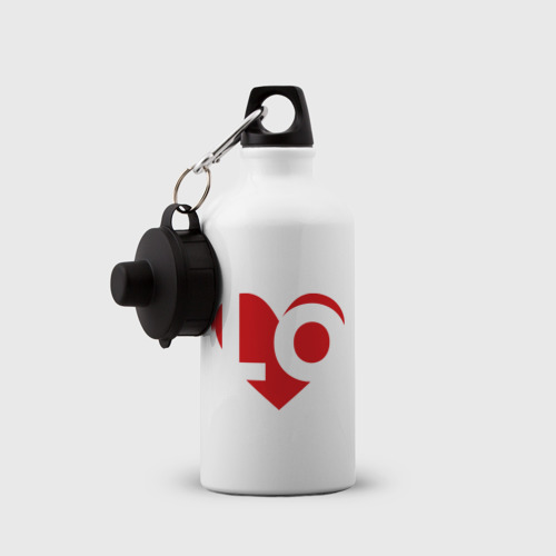 Бутылка спортивная  Фото 03, Половина любви