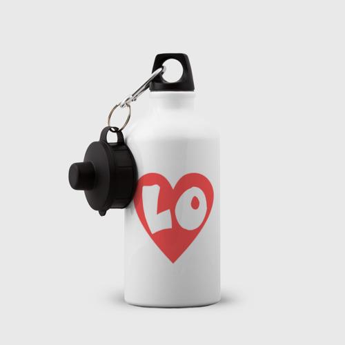 Бутылка спортивная Первая половинка любви