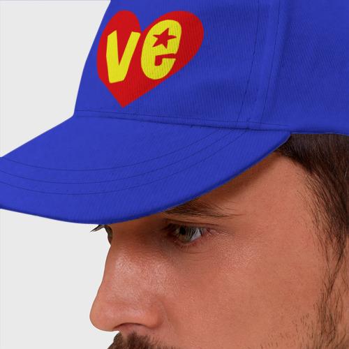Бейсболка Ve - half