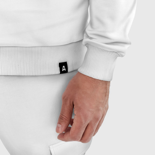 Мужской костюм хлопок Отбросы лого Фото 01