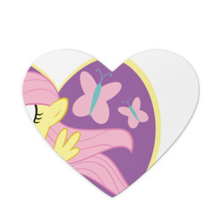 Young Fluttershy in the heart