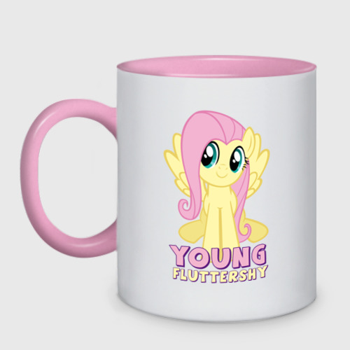 Young Fluttershy pink