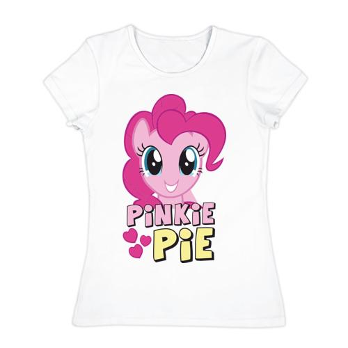 Женская футболка хлопок Красавица Пинки Пай