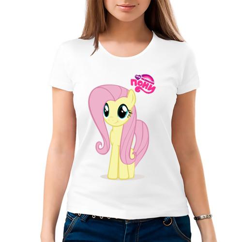 Женская футболка хлопок  Фото 03, Малаенькая Флаттершай