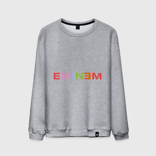 Мужской свитшот хлопок Eminem party-colored Фото 01