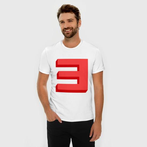 Мужская футболка премиум  Фото 03, Eminem-big E