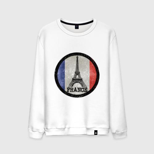 Мужской свитшот хлопок  Фото 01, Logo France