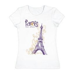 Paris mon amour - интернет магазин Futbolkaa.ru