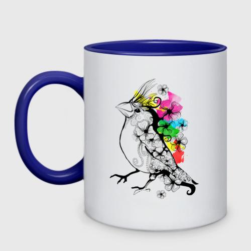 Кружка двухцветная Birdie Фото 01