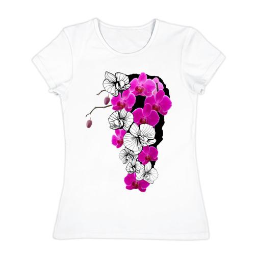 Женская футболка хлопок Orchid