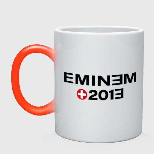Кружка хамелеон  Фото 01, Eminem 2013