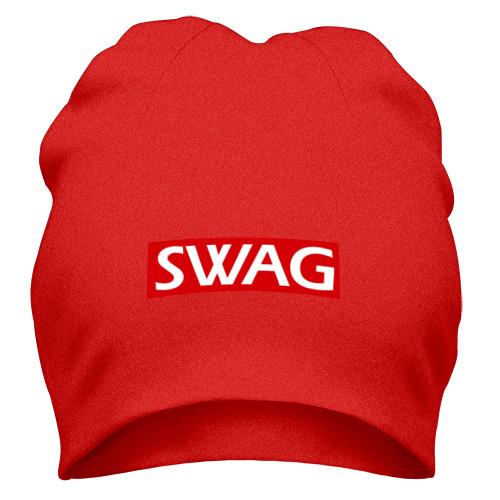 Шапка Swag  на подложке