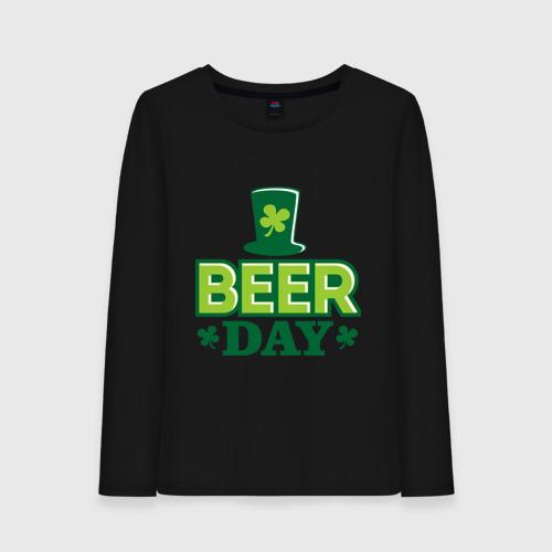 Женский лонгслив хлопок  Фото 01, Beer day