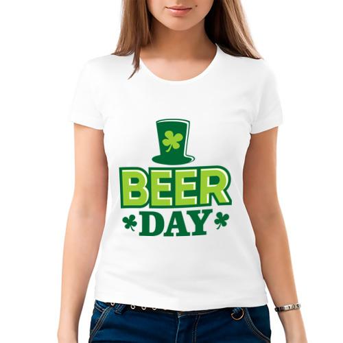 Женская футболка хлопок  Фото 03, Beer day