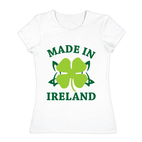 Женская футболка хлопок  Фото 01, Made in ireland