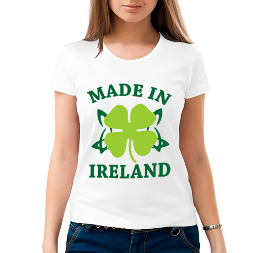 Женская футболка хлопок  Фото 03, Made in ireland