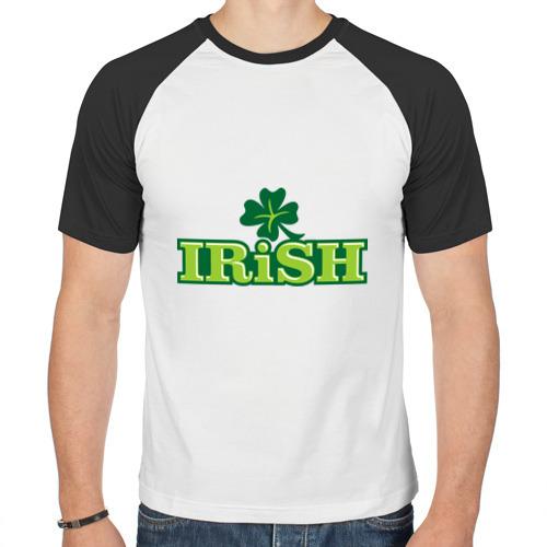 Мужская футболка реглан  Фото 01, Ирландия