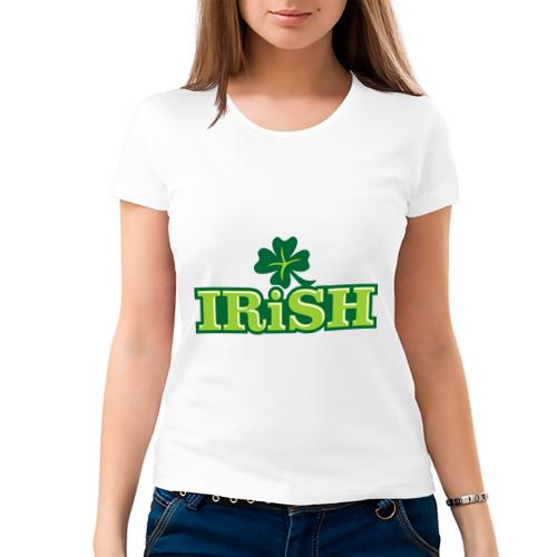 Женская футболка хлопок  Фото 03, Ирландия