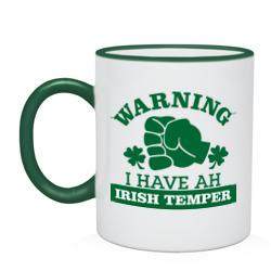 Warning! Irish temper - интернет магазин Futbolkaa.ru