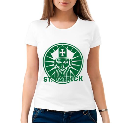 Женская футболка хлопок St. Patrick