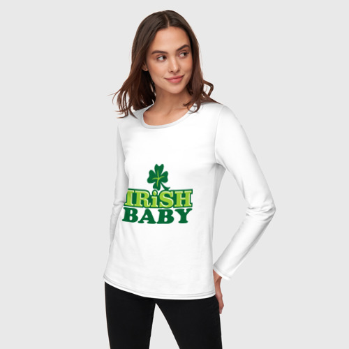 Женский лонгслив хлопок  Фото 03, Irish baby