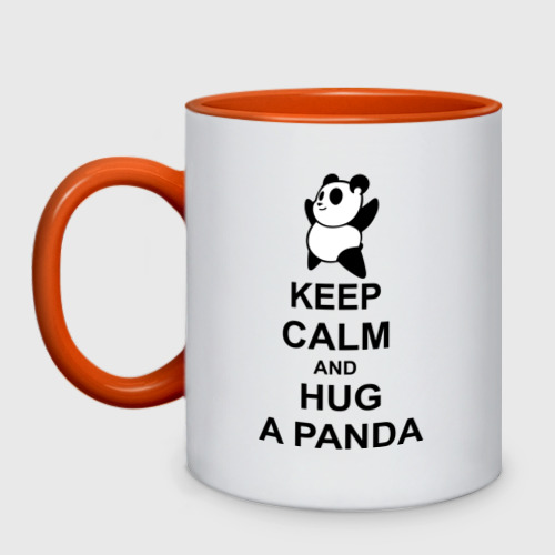 keep calm and hug a panda