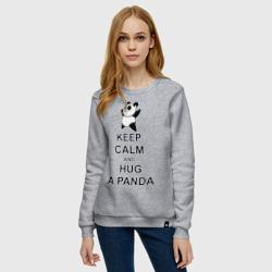 keep calm and hug a panda