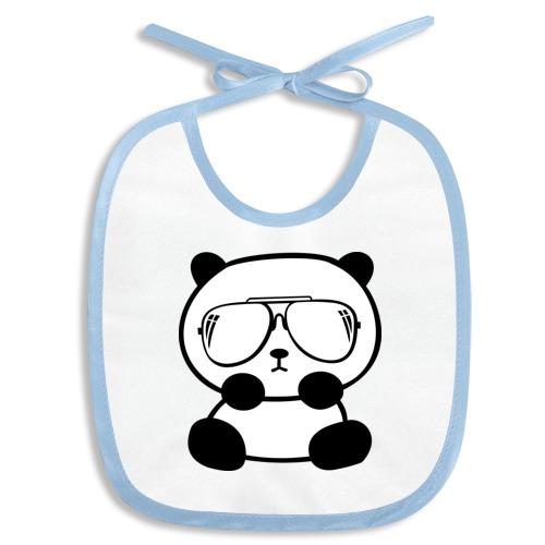 панда в очках авиатор