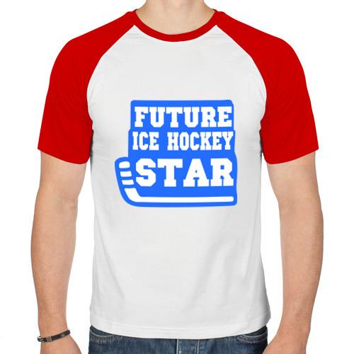 Мужская футболка реглан  Фото 01, Будущая звезда хоккея