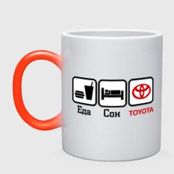 Главное в жизни - еда, сон , Toyota.