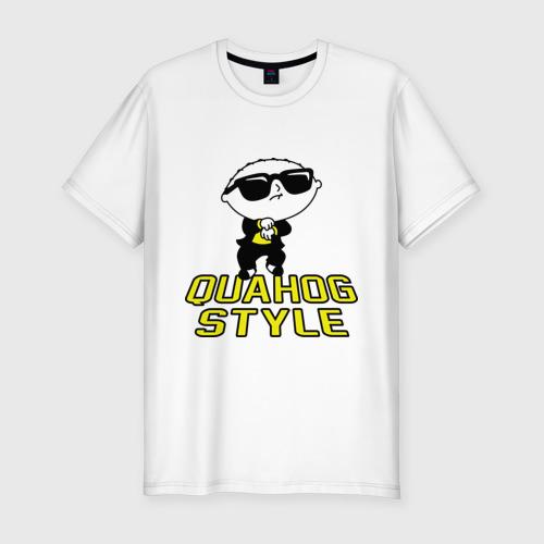 Мужская футболка премиум  Фото 01, Quahog style