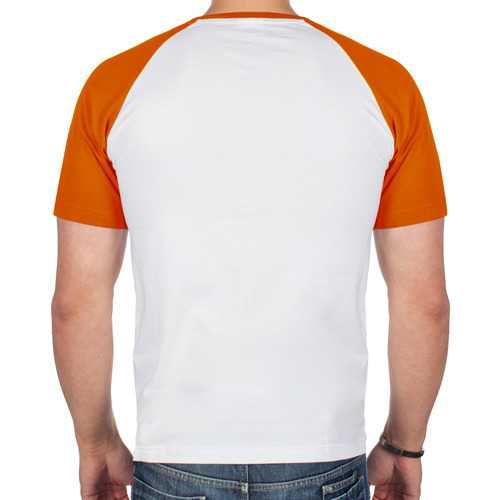 Мужская футболка реглан  Фото 02, Главное в жизни - еда, сон,bmw.
