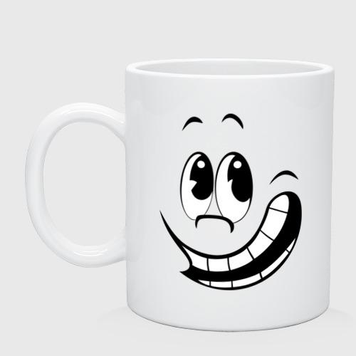 Смайл улыбается
