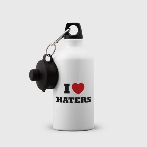 Бутылка спортивная  Фото 03, I Love Haters
