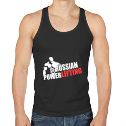 Russian powerlifting (светящийся) - интернет магазин Futbolkaa.ru