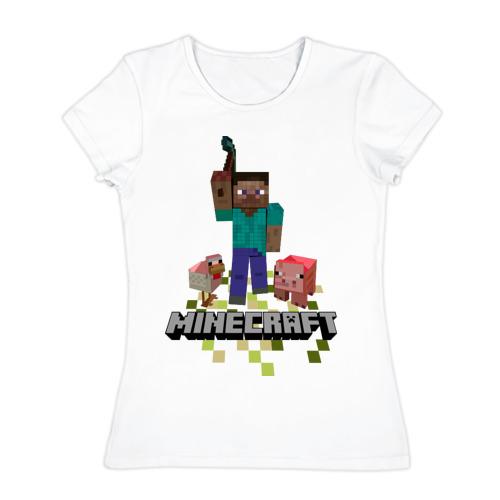 Женская футболка хлопок  Фото 01, Шахтёрское ремесло