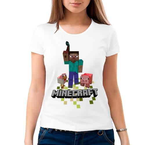 Женская футболка хлопок  Фото 03, Шахтёрское ремесло
