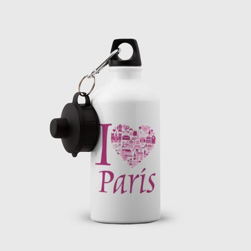 Бутылка спортивная  Фото 03, люблю Париж