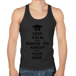 Keep Calm And remove the arow
