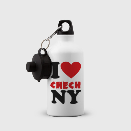 Бутылка спортивная  Фото 03, Я люблю Чечню