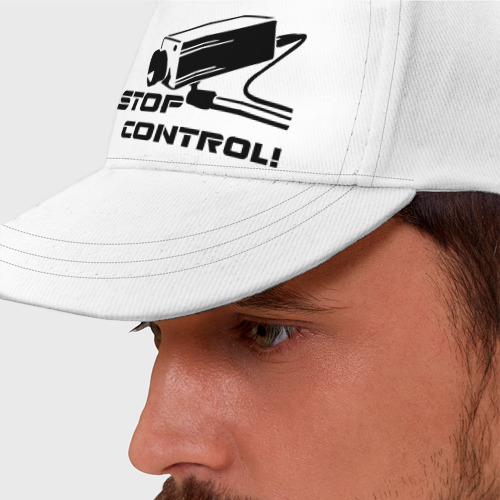 Бейсболка  Фото 01, Stop control (нет контролю)