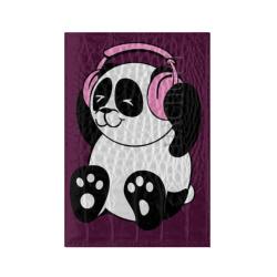 Panda in headphones (панда в наушниках)