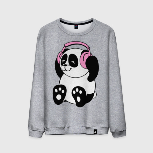 Panda in headphones (панда в наушниках)
