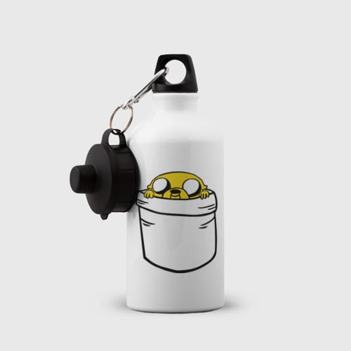 Бутылка спортивная  Фото 03, Собака Джейк в кармане