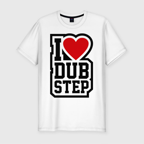 Мужская футболка премиум  Фото 01, I love DubStep