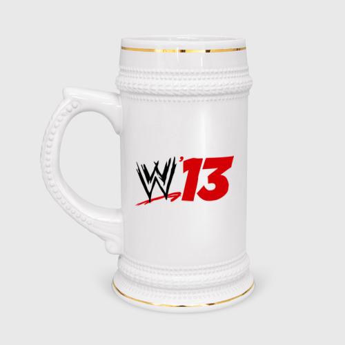 Кружка пивная  Фото 01, WWE 13